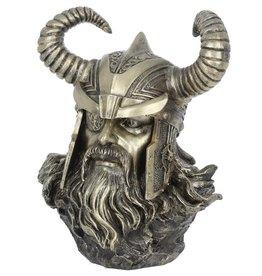 NemesisNow Odin gebronsd beeld buste 21,5cm