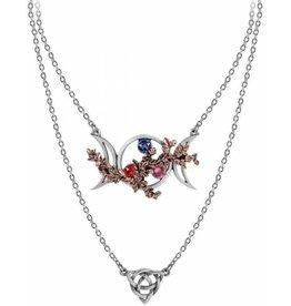 Alchemy Wiccan Goddess of Love necklace Alchemy