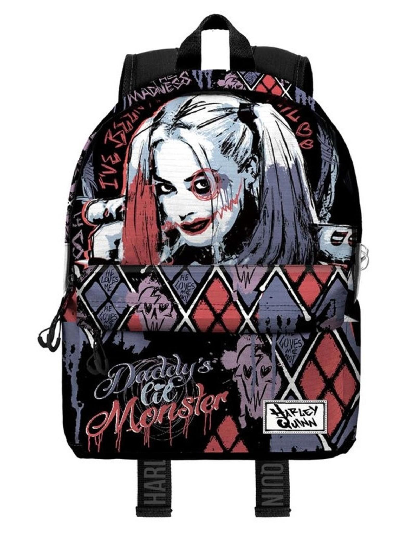 NEW!! Official Licensed DC Comics Harley Quinn Rucksack