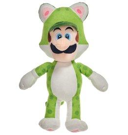 Nintendo Mario Bros Luigi groen pluche 35cm