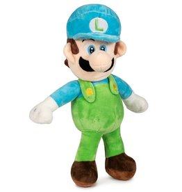 Nintendo Mario Bros Luigi blauw pluche 35cm