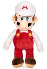 Nintendo Merchandise pluche en figuren - Mario Bros Mario wit pluche 35cm