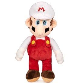 Nintendo Mario Bros Mario white plush 35cm