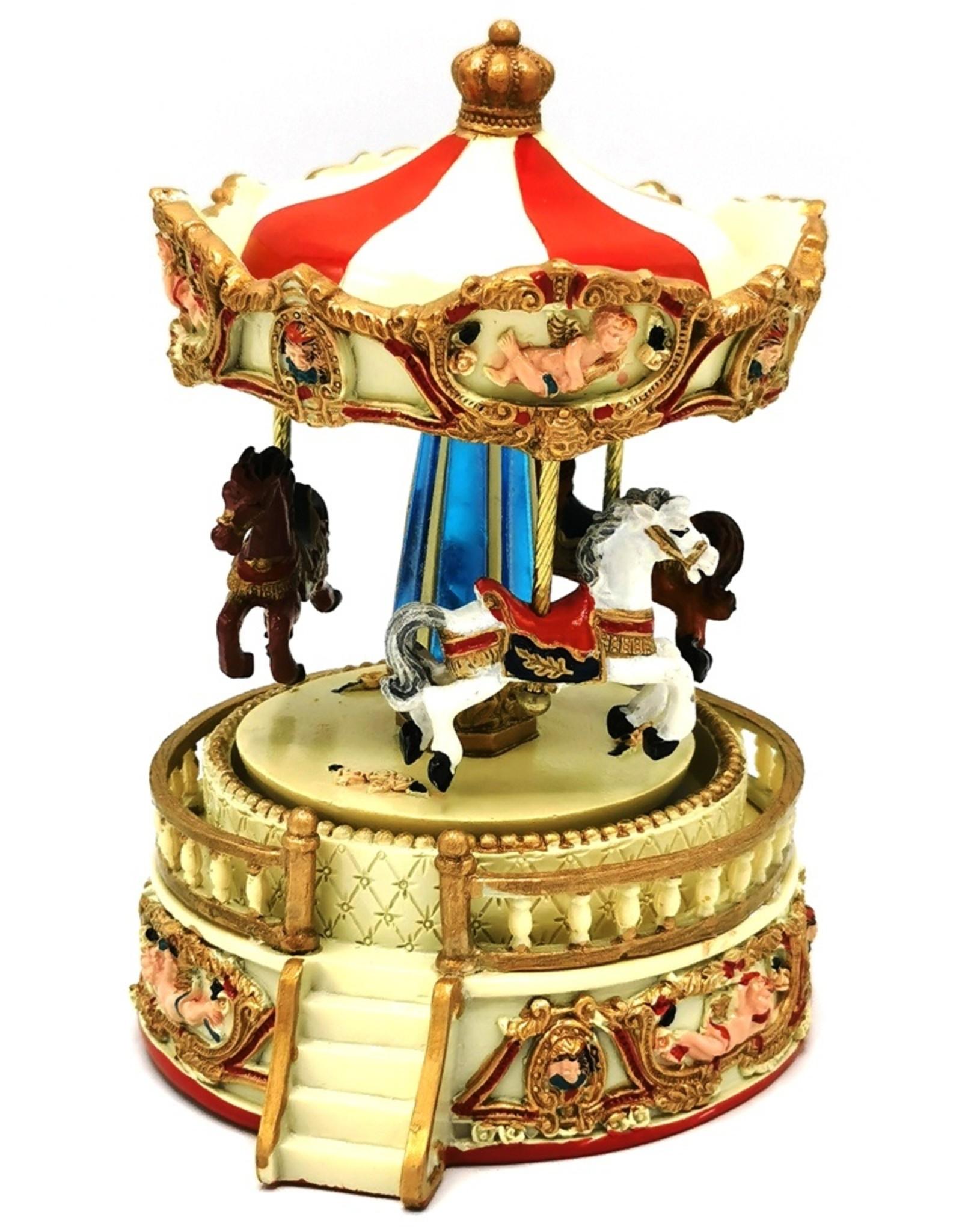Vintage muziekdoos carrousel Miscellaneous - Muziekdoos Carrousel klein