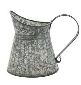 Trukado Brocante Metal Jug - grey