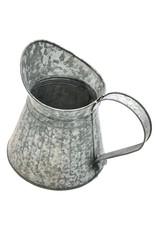 Brokante Metalen Kan Miscellaneous -  Brocante Metal Jug - grey