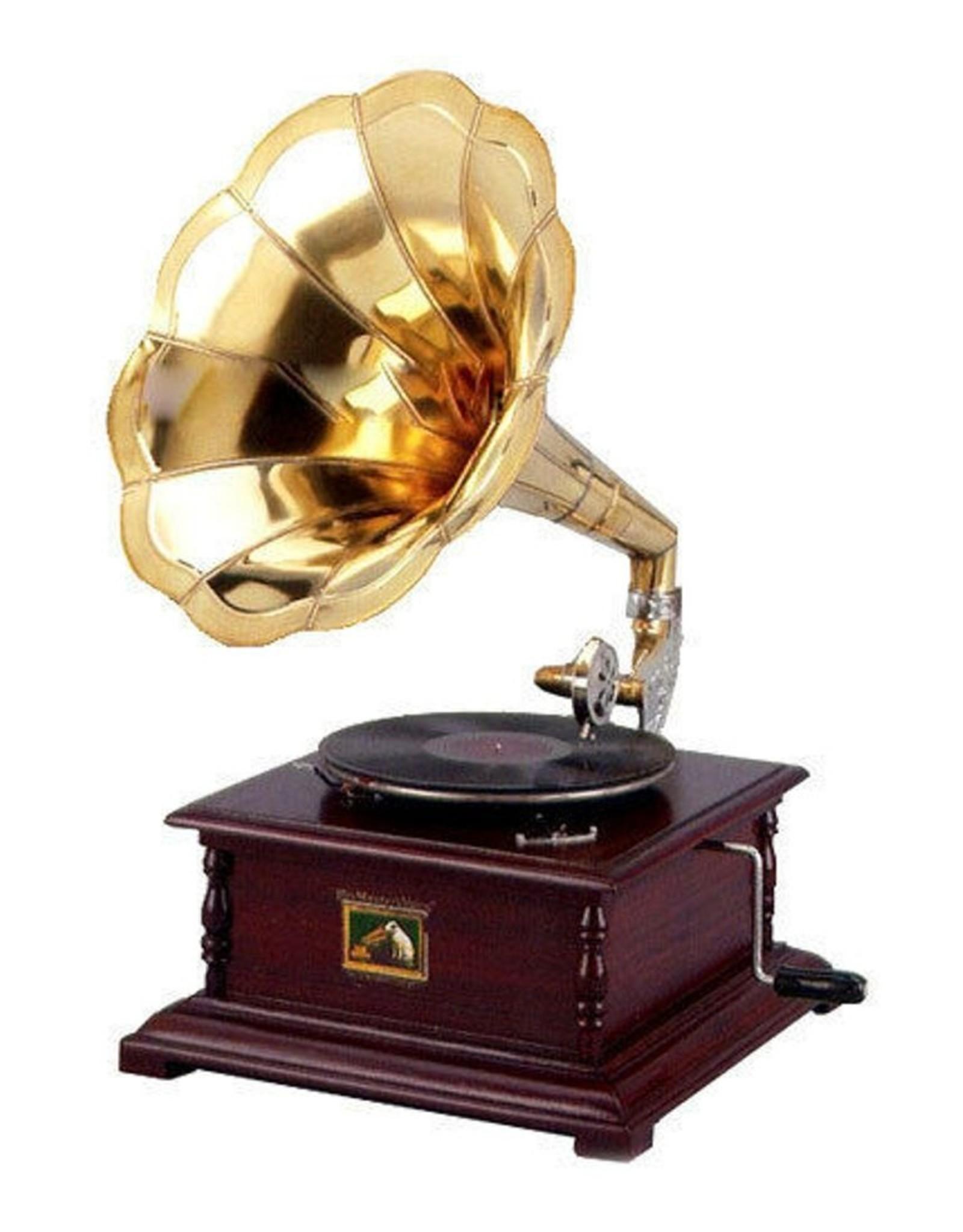 Grammofoon Miscellaneous - Grammofoon - Ouderwetse platenspeler met hoorn