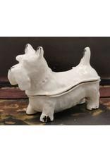 Juwelendoosje hond Miscellaneous - Jewellery Box Dog - Brocante (White Iron)