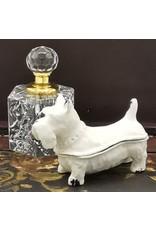 Juwelendoosje hond Miscellaneous - Juwelendoosje Hond - Brocante (wit IJzer)