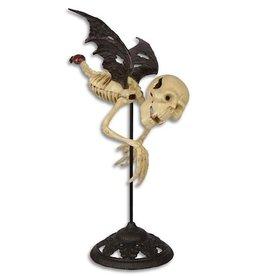 Trukado Flying vampire skeleton on stand