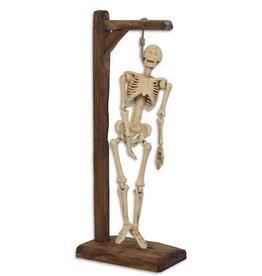 Trukado Skeleton on wooden gallows
