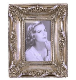 Trukado Fotolijst Victoriaans antiek zilver look