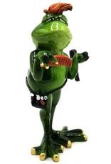 Kikker Kapper beeld Giftware, beelden, collectables - Kikker Kapper beeld - 19 cm, polyresin