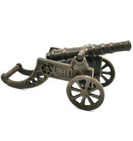 Trukado Gietijzeren kanon miniatuur