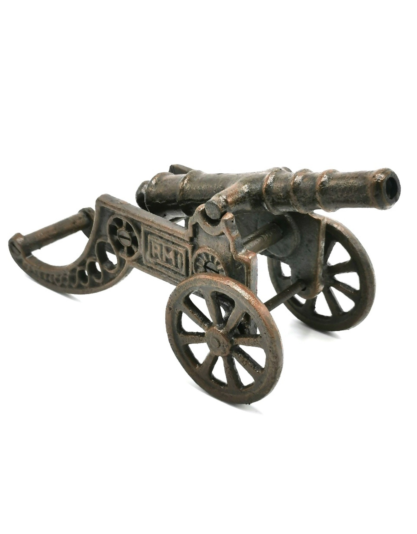 Trukado Miscellaneous - Cast iron canon miniature