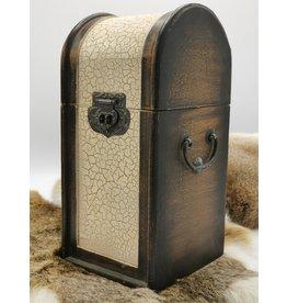 Houten Opbergkist - Steampunk Wooden Storage Box Steampunk style