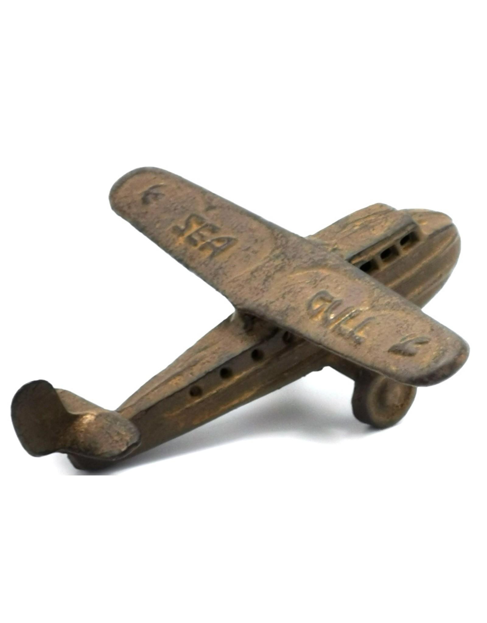 Gietijzeren vliegtuig Giftware, beelden, collectables - Miniatuur Vliegtuig Vintage look, gietijzer