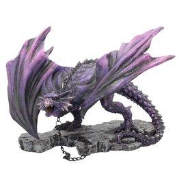 Nemesis Now Purple dragon Azar