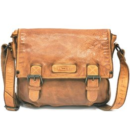 HillBurry HillBurry Leather School bag Washed Leather (cognac)