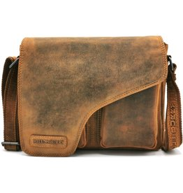 HillBurry Hillburry leather shoulder bag vintage look (medium)