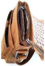 HillBurry Leather Shoulder bags  Leather crossbody bags - Hillburry leather shoulder bag vintage look (medium)