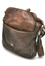 HillBurry Leather Shoulder bags  Leather crossbody bags - HillBurry Shoulder Bag Washed Leather