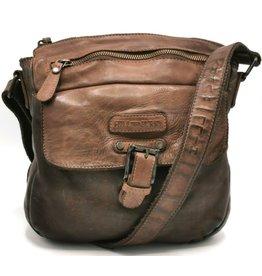 HillBurry HillBurry Shoulder Bag Washed Leather
