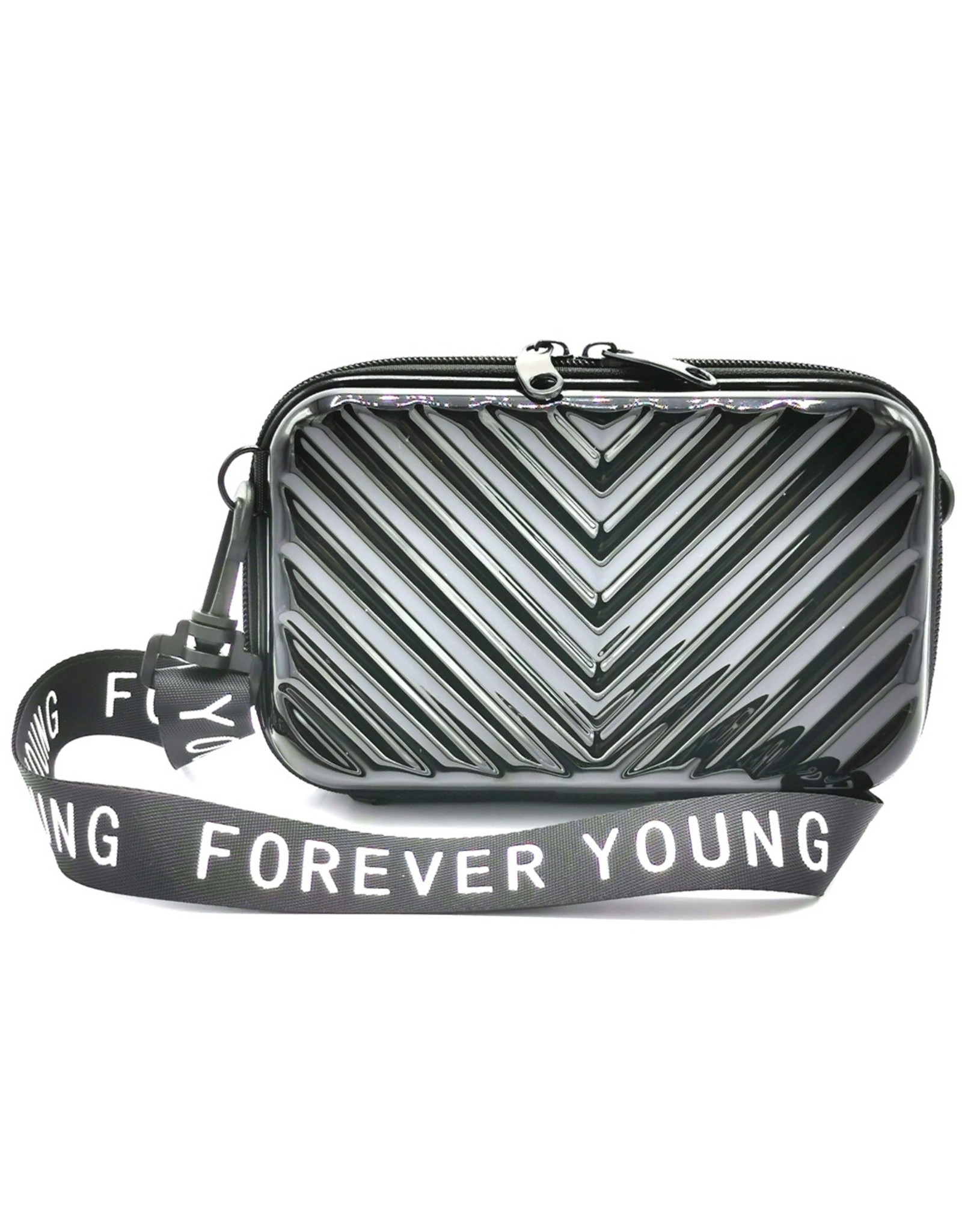 Forever Young Clutches and Wallets - Festivaltag, phonebag, party bag black