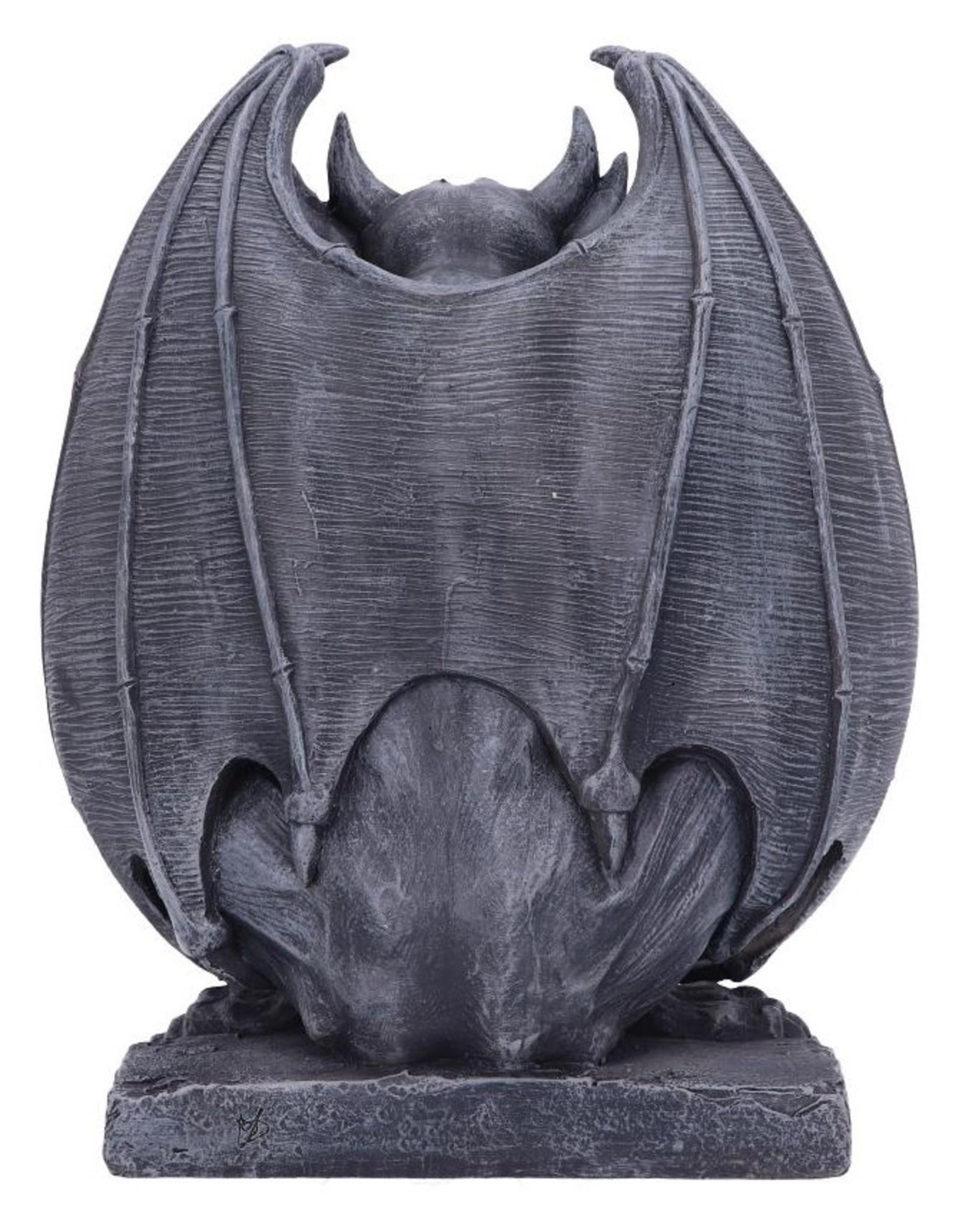 Nemesis Now Giftware Figurines Collectables - Adalward Dark Black Gargoyle 26cm