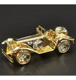Crystal Temptations Miniature Oldtimer - gold-plated and with Swarovski