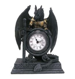 Dragon clock Dragon in armour with clock