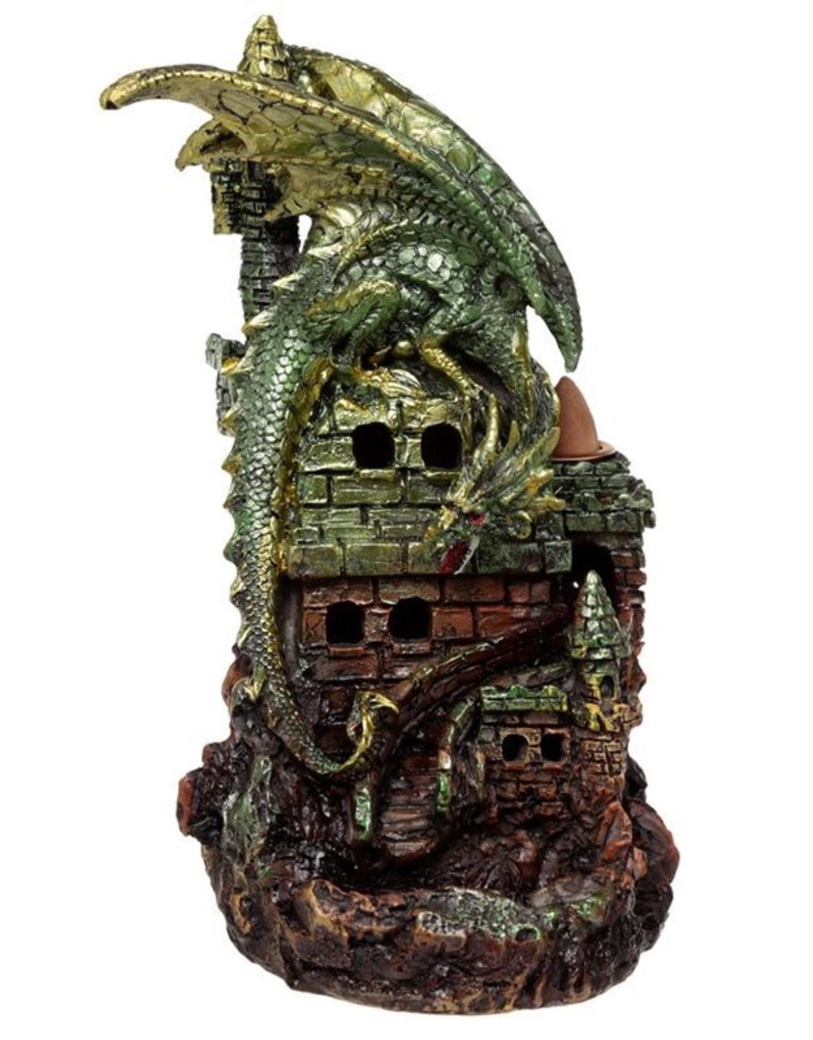 Dragon Castle Giftware Figurines Collectables - Dragon Castle LED Backflow Incense holder