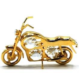 Crystal Temptations Miniatuur Motor - verguld en met Swarovski