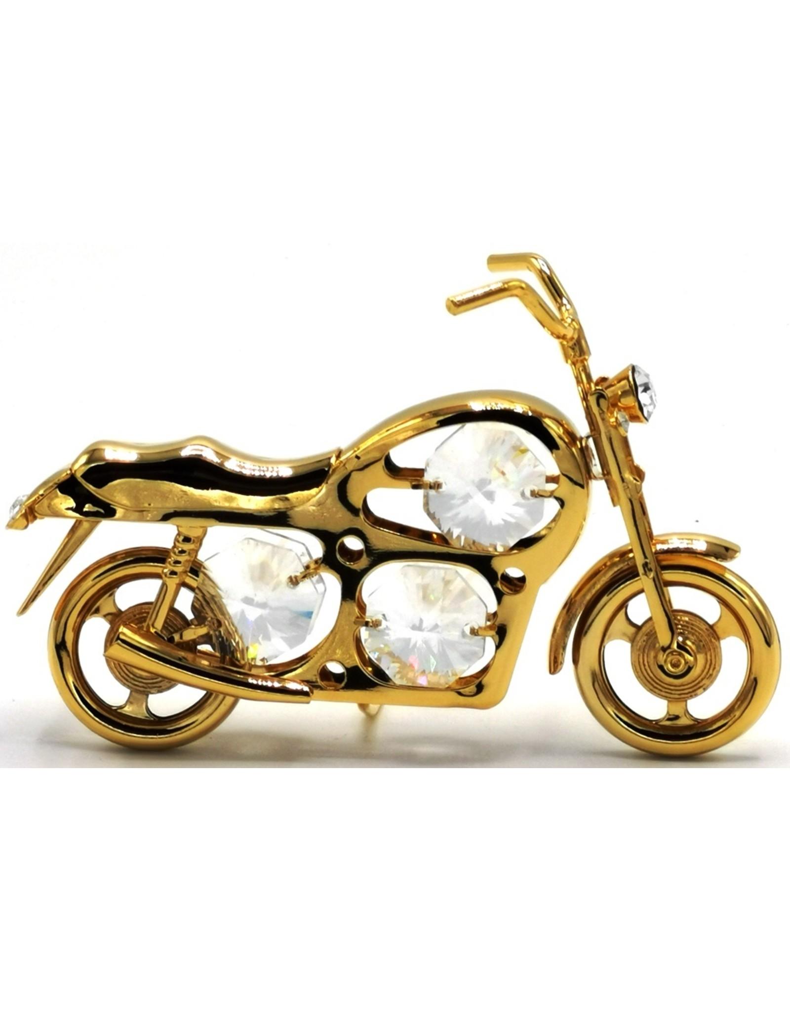 Crystal Temptations Miscellaneous - Miniatuur Motor - verguld en met Swarovski