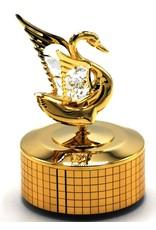 muziekdoosje Gouden Zwan Miscellaneous - Muziekdoosje Gouden Zwaan met Swarovski kristallen