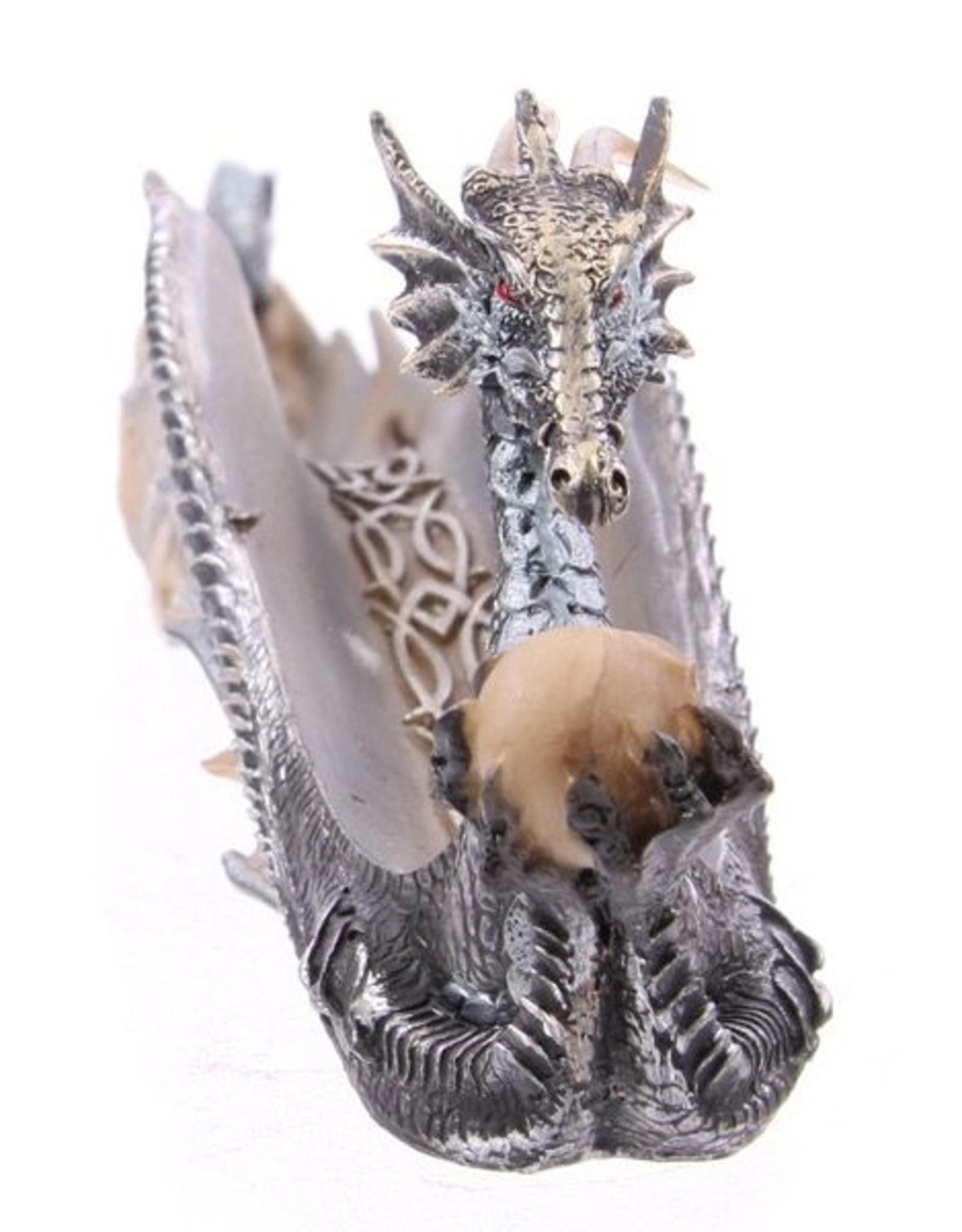 Shiny dragon Giftware Beelden Collectables  - Glinsterende draak wierookhouder