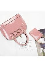 Trukado Modieuze tassen - Handtas met strik Little Bow purple