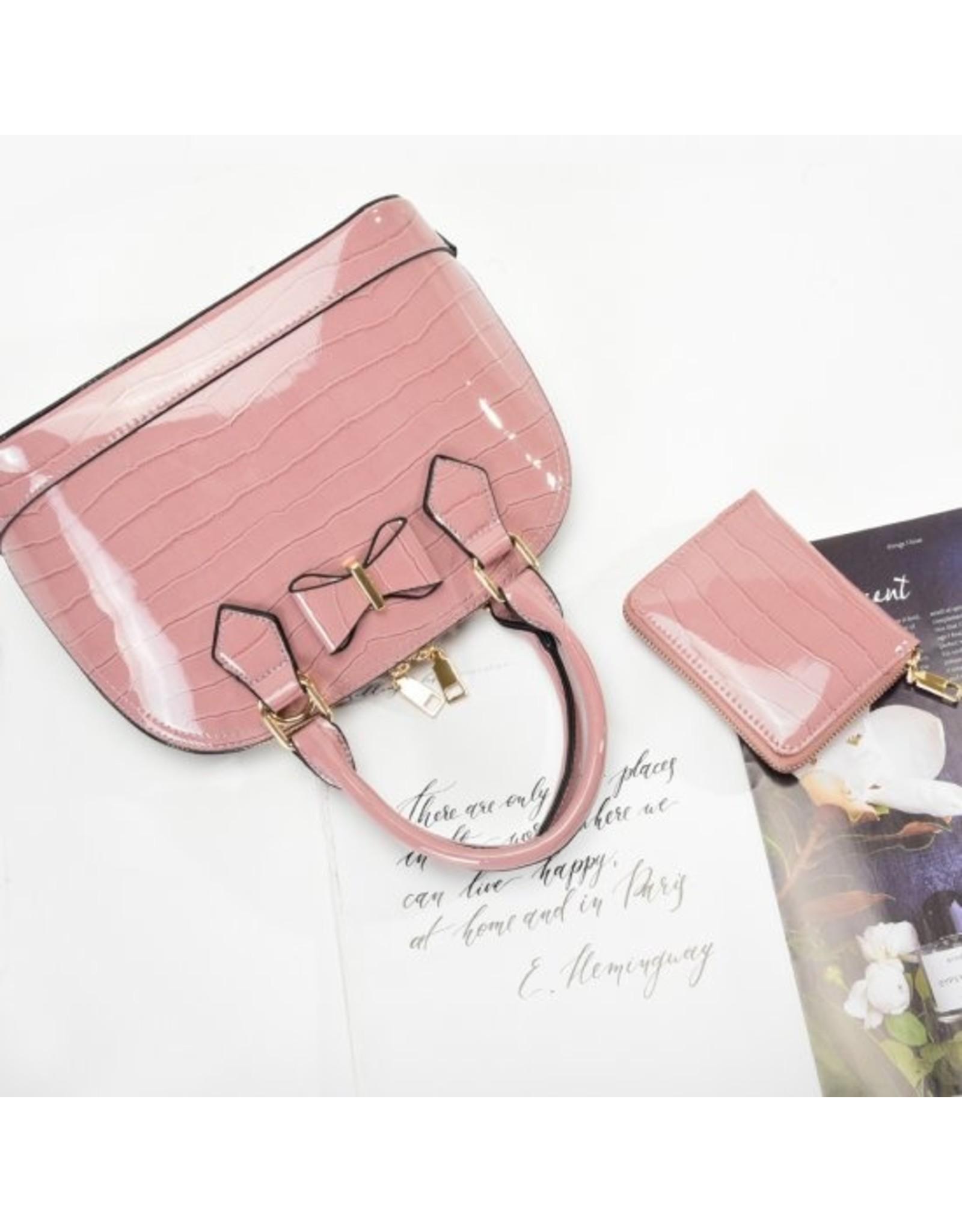 Trukado Fashion bags - Handbag with bow Little Bow purple