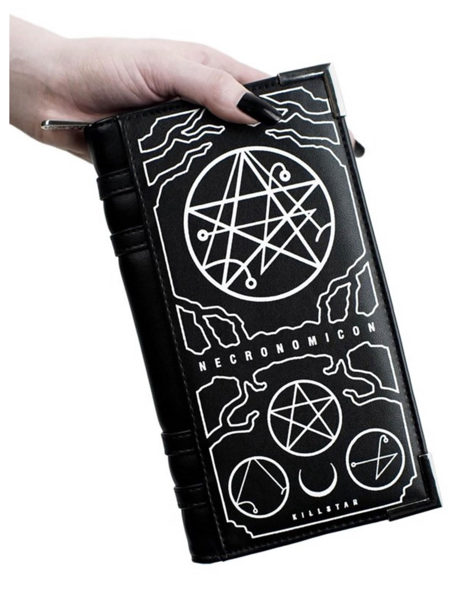Killstar Killstar tassen en accessoires - Killstar Necronomicon portemonnee
