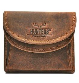 Hunters Leren portemonnee Hunters (groot muntenvak)