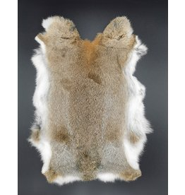 Konijnenvacht Rabbit fur brown 30cm x 40cm (soft and odorless)