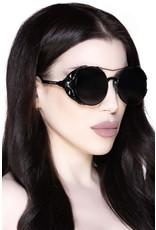 Killstar Killstar tassen en accessoires - Killstar zonnebril Baphomet (zwart)
