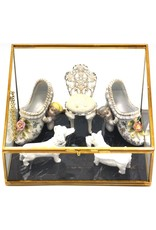 Trukado Miscellaneous - Glazen vitrinebox - opbergdoosje - juwelendoosje