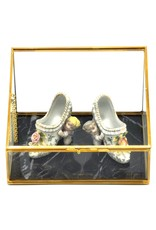Trukado Miscellaneous - A pair of porcelain Rococo style Mules