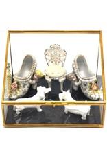 Trukado Miscellaneous - Een  Paar Porseleinen Muiltjes in Rococostijl