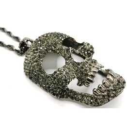 Dark Desire Skull Necklace  - Large, 3D
