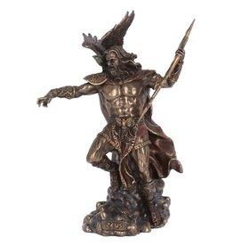 Nemesis Now Zeus bronzed figurine 30cm