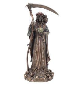 Nemesis Now Santa Muerte Reaper Finished in Bronze 29cm