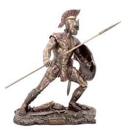 Nemesis Now Bronzed Greek Hero Achilleus Figure 25.5cm