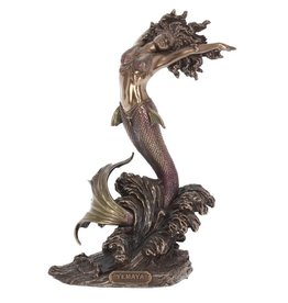 Nemesis Now Yemaya Goddess of Water bronzed figurine 27cm
